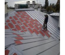 Фарбування оцинкованого даху рідкою мембраною