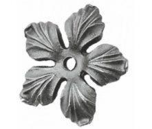 Кованый цветок 90х90х8 мм (50.132)