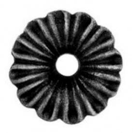 Кованый цветок 95х95х18мм (50.015)