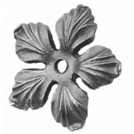 Кований квітка 90х90х8 мм (50.132)