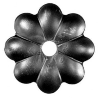 Кованый элемент цветка 60х60х10мм (50.005)