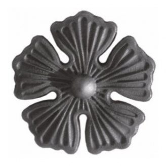 Кованый цветок 135х135 мм (50.134)