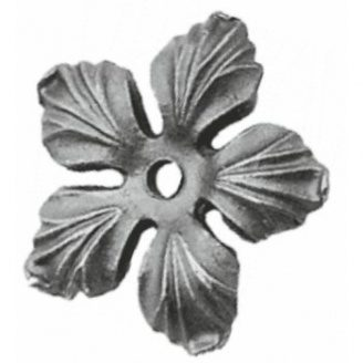 Цветы, листья, орнаменты растений 90×90×8мм (50.132)