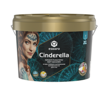 Особливо стійка до забруднень матова фарба для стін Eskaro Cinderella 2,7 л