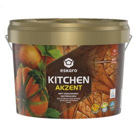 Mатовая акриловая краска Eskaro Akzent Kitchen 2,7 л