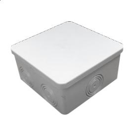 Коробка распределительная серая гладкостенная IP55 80x80x40 мм