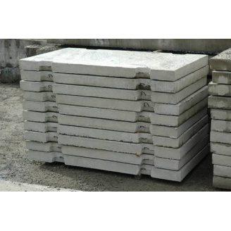 Плита дорожня ПДС 7-14-10 1390х680х100 мм