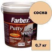Шпаклевка по дереву и минеральным поверхностям FARBEX сосна 0,7 кг