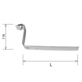 Держатель проволоки для профнастила 60 мм HDG KovoFlex