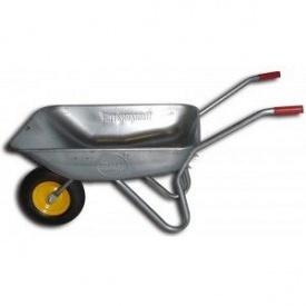 Тачка садовая BudMonster в/п-120 кг 1-но пневмо колесо