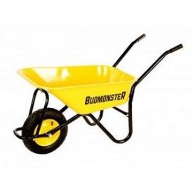 Тачка строительная BudMonster в/п-250 кг 1-но пневмо колесо