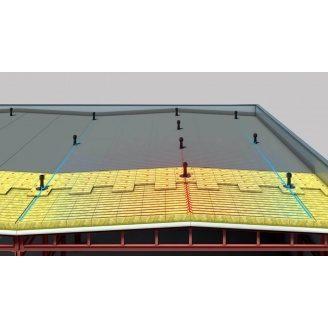 Утеплювач Техноніколь ТЕХНОРУФ ПРОФ для плоскої покрівлі щільність 160 кг/м3 1200x600x130 мм