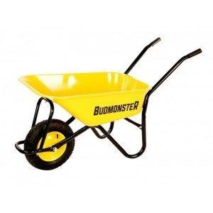 Тачка будівельна BudMonster в/п-250 кг 1-пневмо колесо