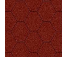 Битумная черепица Aquaizol Мозаика 1000*320 мм коричневая