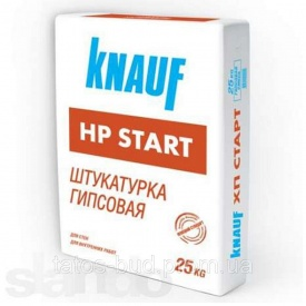 Шпаклевка гипсовая Старт HP Knauf 30 кг