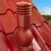 Вентиляционный выход Kronoplast KBXO-2 для металлочерепицы 46 мм типа Монтерей 150 мм теплый