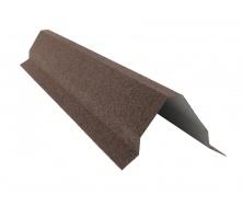 Планка конька треугольного QueenTile большая 2 м brown