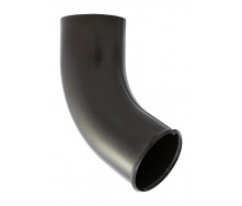 Сливное колено Акведук Премиум 87/70 темно-коричневый RAL 8019