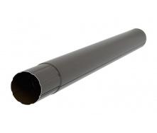 Труба Акведук Премиум 87 мм 3 м темно-коричневый RAL 8019