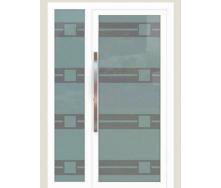 Алюминиевые фасадные двери m-2045