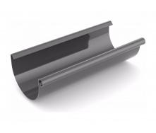 Желоб водосточный Bryza 75 мм 3 м графит