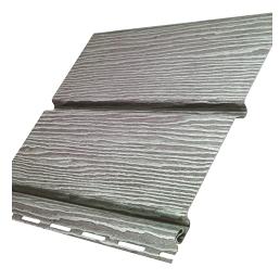 Софіт Ю-ПЛАСТ Timberblock без перфорації 3 м Дуб сріблястий