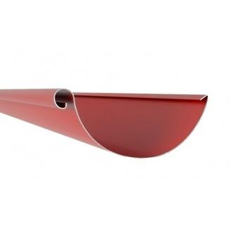 Желоб Акведук Премиум 125 мм 4 м темно-красный RAL 3009