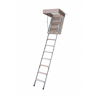 Чердачная лестница Bukwood ECO Metal 120х90 см