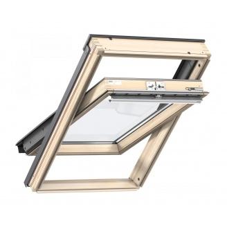 Мансардне вікно VELUX Стандарт GZL 1051 FK06 дерев'яне 660х1180 мм