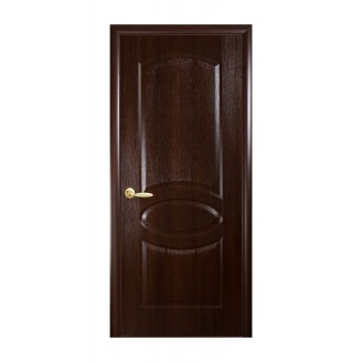 Двери межкомнатные Новый Стиль ФОРТИС DeLuxe R 600х2000 мм каштан