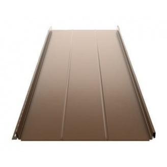 Фальцева покрівля Ruukki Classic D 505 мм темно-коричневий