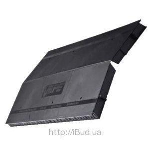 Коньковый вентиль VILPE Airidge Felt 590х325х30 мм черный