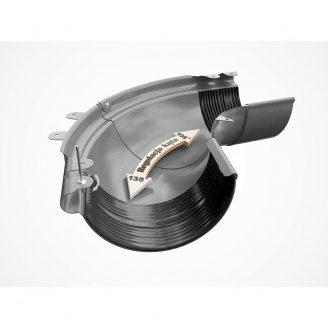 Внешний регулируемый угол 90-150° Galeco PVC130 130 мм (RE130-LZREG-P) (RAL9010/белоснежный)