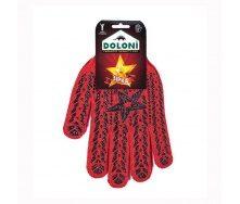 Перчатки с ПВХ рисунком Звезда Doloni (4040)