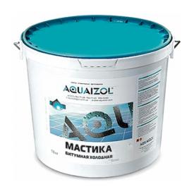 Бітумна мастика Aquaizol холодна 10 кг
