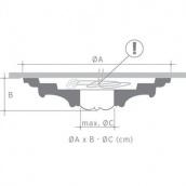 Потолочная розетка Orac Decor Luxxus R31