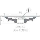 Потолочная розетка Orac Decor Luxxus R46