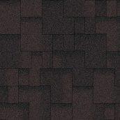 Битумная черепица Aquaizol Акцент 320х1000 мм коричневый эко