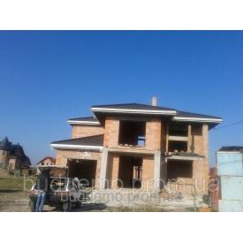 Строительство дома из керамического блока