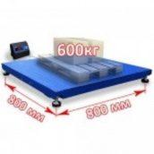 Весы платформенные 0,8x0,8 м