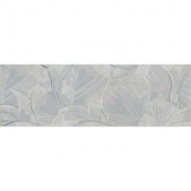 Декор для плитки Opoczno Flower Cemento Light Grey Inserto 24x74 см (DL-374473)