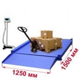 Весы низкопрофильные платформенные 3000 кг