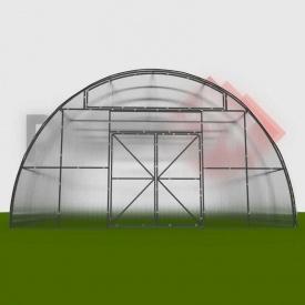 Фермерская теплица ФЕРМА-3500 под поликарбонат 6x8x3,5 м
