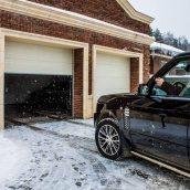 Ворота гаражные секционные автоматические
