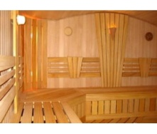 Влаштування дерев'яної обшивки сауни і лазні