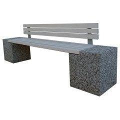 Бетонные скамейки