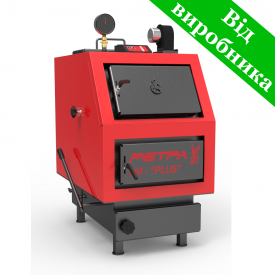 Твердотопливный котел РЕТРА-3М 80 кВт 1720х895х1365 мм