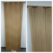 Двері гармошка ширма бук 820х2030х0,6 мм 503 розсувні міжкімнатні пластикова глуха