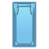 Композитний басейн Блакитна Лагуна Сокар 8,5х3,7х1,5 м