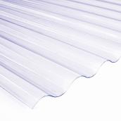 Лист Salux Strong 76/18 2х0.9, прозора хвиля
